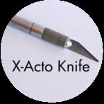Art Supplies: X-Acto Knife