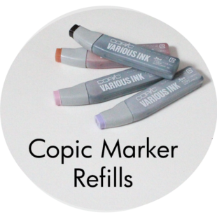 Art Supplies: Copic Marker Refills