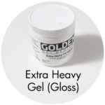 Art Supplies: Golden Extra Heavy Gel (Gloss)