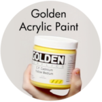 Art Supplies: Golden Acrylic paint