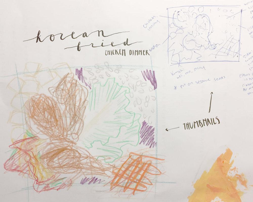 Thumbnail Sketches, Ruth Lee