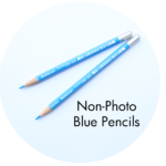 Art Supplies: Non-Photo Blue Pencils