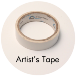 Art Supplies: Artist's Tape
