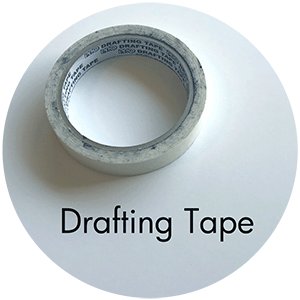 Art Supplies: Drafting Tape