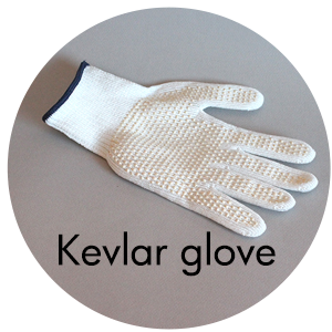 Art Supplies: Kevlar Glove