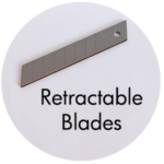 Art Supplies: Retractable Blades