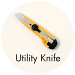 Art Supplies: Utility Knife