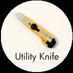 Art Supplies: Utility Knife