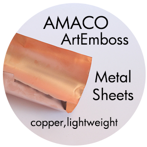 Art Supplies: ArtEmboss Copper Sheets