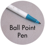 Art Supplies: Ball Point Pen