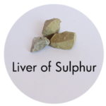 Art Supplies: Liver of Sulphur
