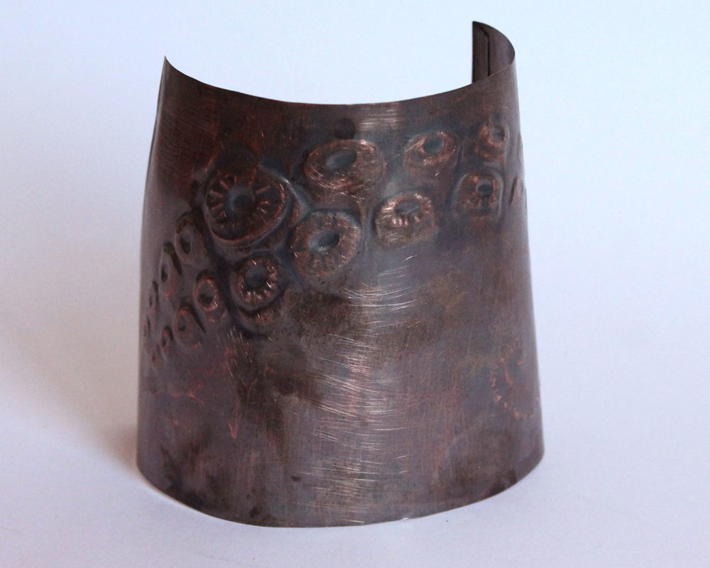Copper Cuff, Annelise Yee