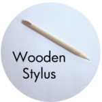 Art Supplies: Wooden Stylus