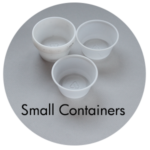 Art Supplies: Small Containers