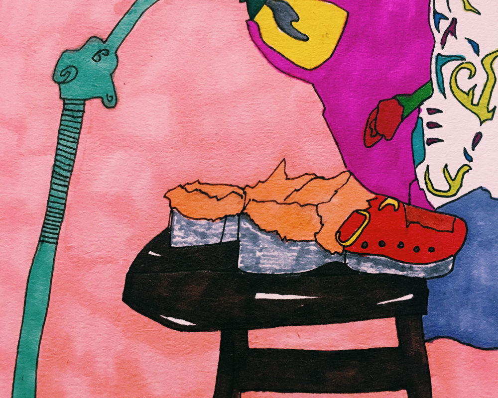 Still Life Marker Drawing, Neve Rechan