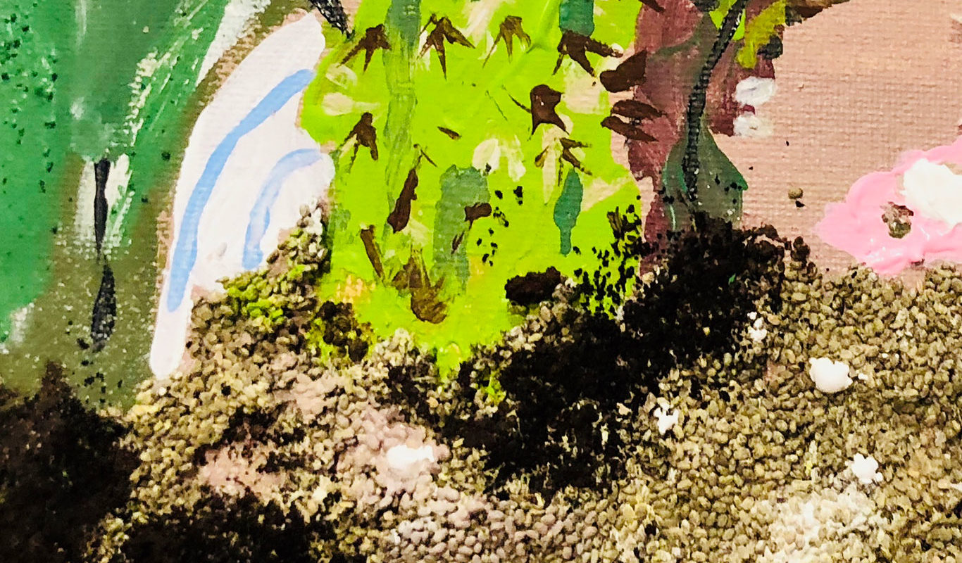 Mixed Media Painting, Neve Rechan
