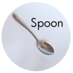 Art Supplies: Metal Spoon