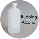 Art Supplies: Rubbing Alcohol