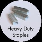 Art Supplies: Heavy Duty Staples
