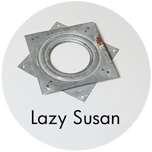 Art Supplies: Lazy Susan