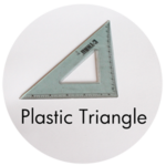 Art Supplies: Plastic Triangle