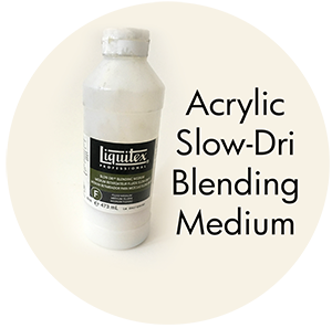 Art Supplies: Acrylic Slow-Dri Blending Medium