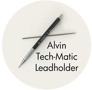 Art Supplies: Alvin Tech-Matic Lead Holder