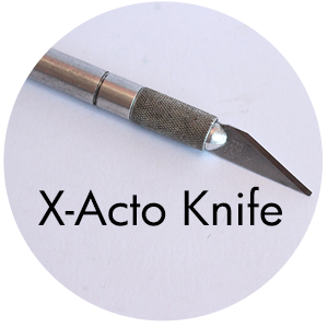 Art Supplies: X-Acto Knife