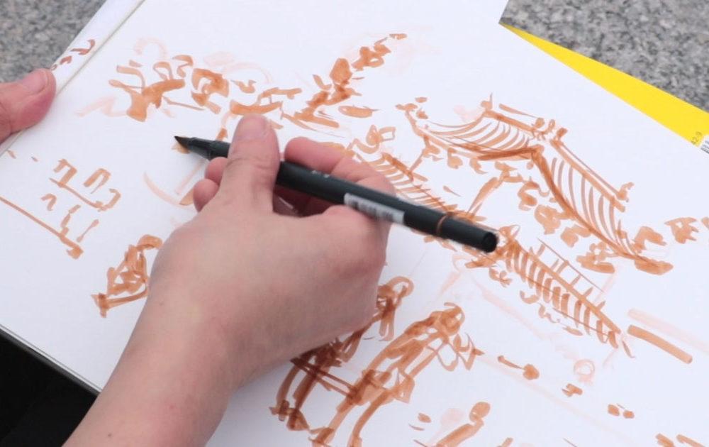 Tombow Brush Pens in Taiwan