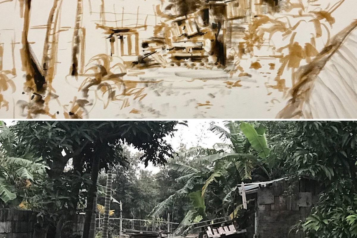 Tombow Brush Pen Sketch, Taiwan