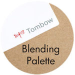 Art Supplies: Tombow Blending Palette