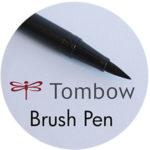 Art Supplies: Tombow Brush Pen