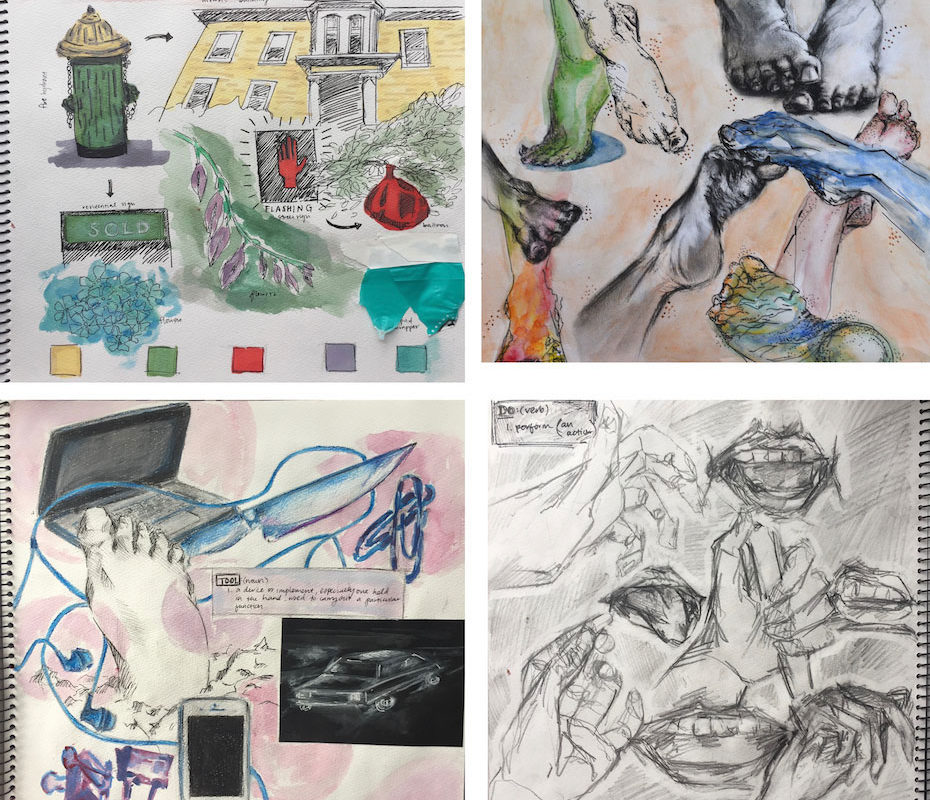 Art School Portfolio, Shreya Kaipa