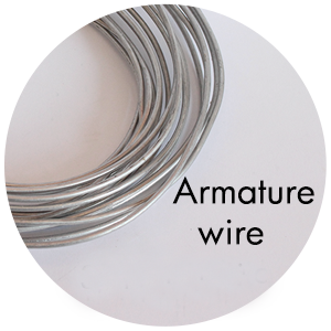 Art Supplies: Armature Wire