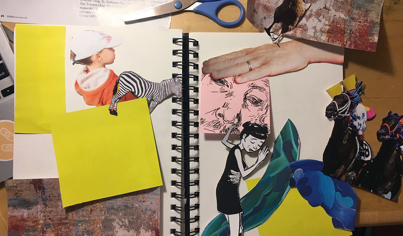Visual Journaling, Cindy Qiao