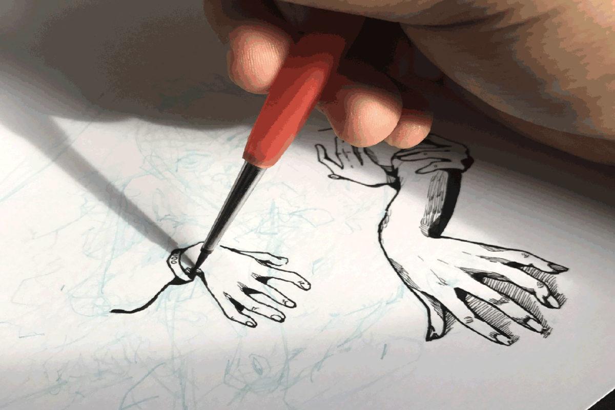 Ink Illustration, Iris Yip