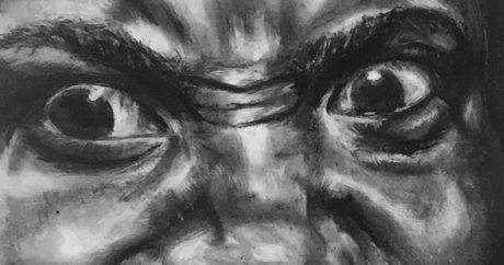 Charcoal Drawing, Lailah Croom
