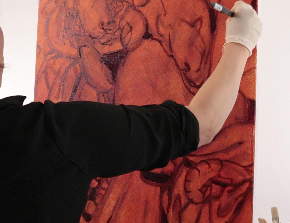 Oil Painting, RISD Adjjunct Professor Clara Lieu
