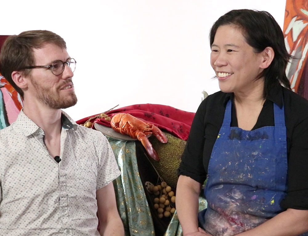 RISD Adjunct Professor Clara Lieu & Alex Rowe