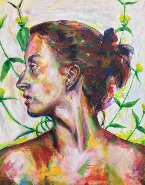 Portrait Painting, Elsa Hillis