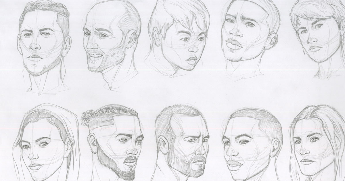 Anatomy Drawing Marathon   Art Prof: Visual Art Essentials
