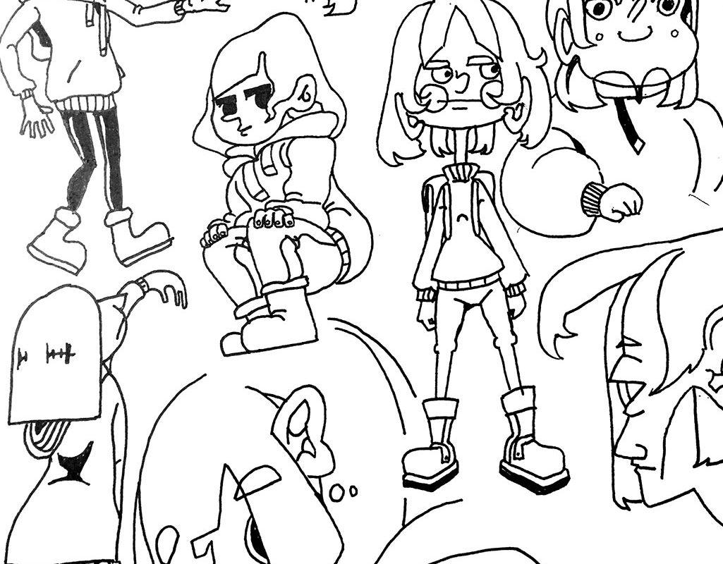Character Designs, Christina Wu