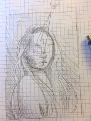 Thumbnail Sketch, Megan Ong