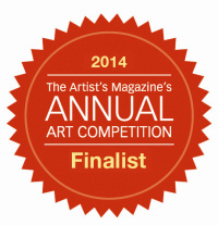 Finalist medallian, Artist Magazine's Annual Art Competition, 2014