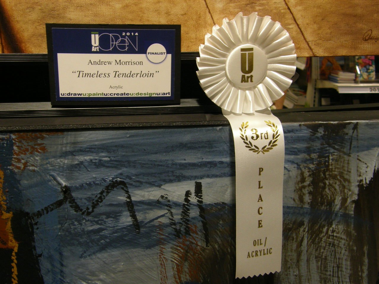 University Art Competition, 3rd Place for Timeless Tenderloin