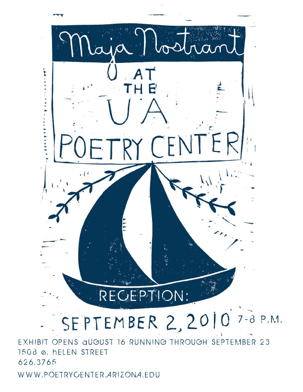 Maja at UA Poetry Center