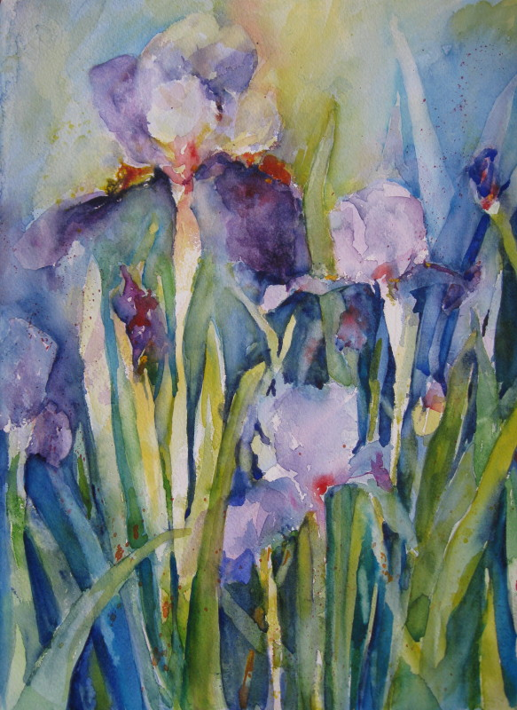 Famous Watercolor Paintings Flower