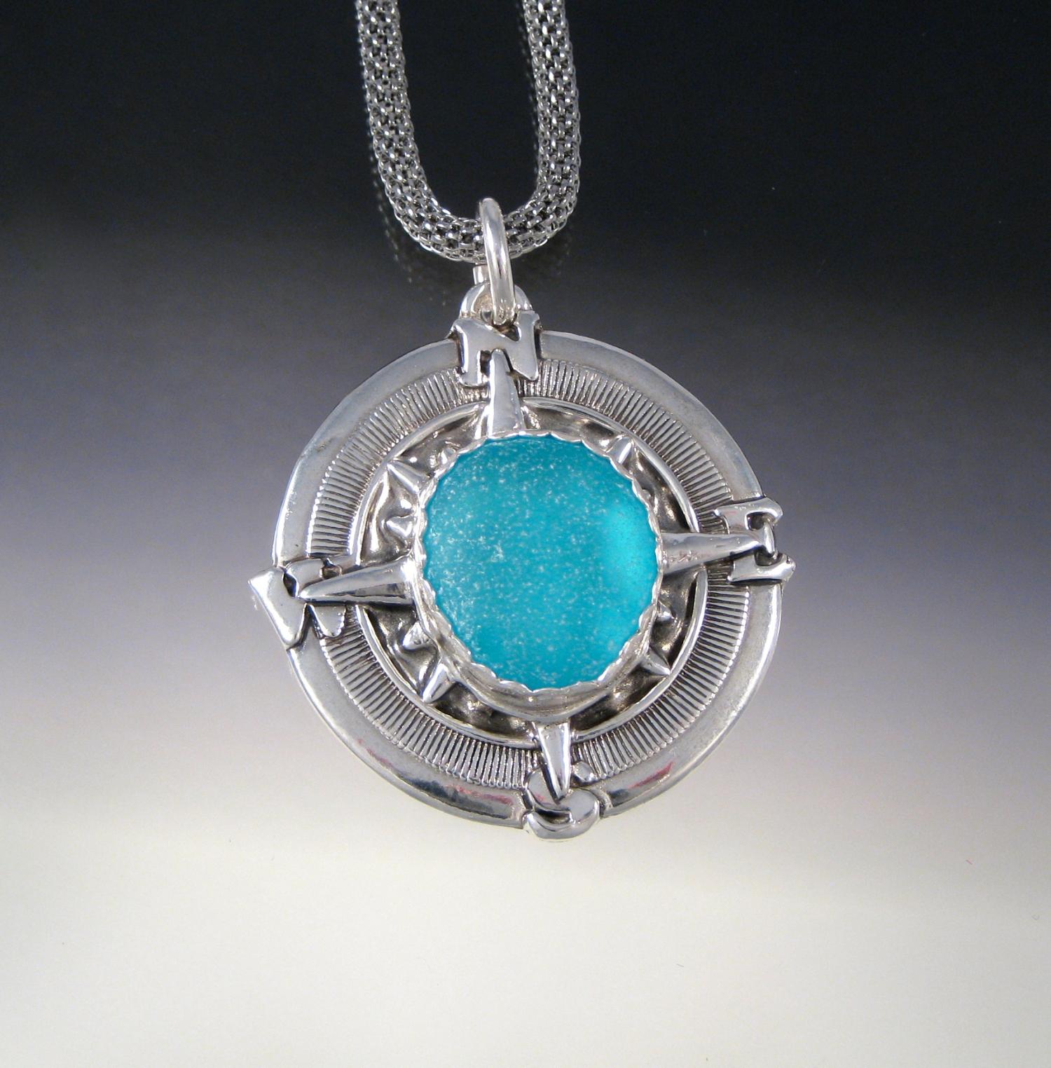 The art and business of sea glass jewelry aloadofball Choice Image
