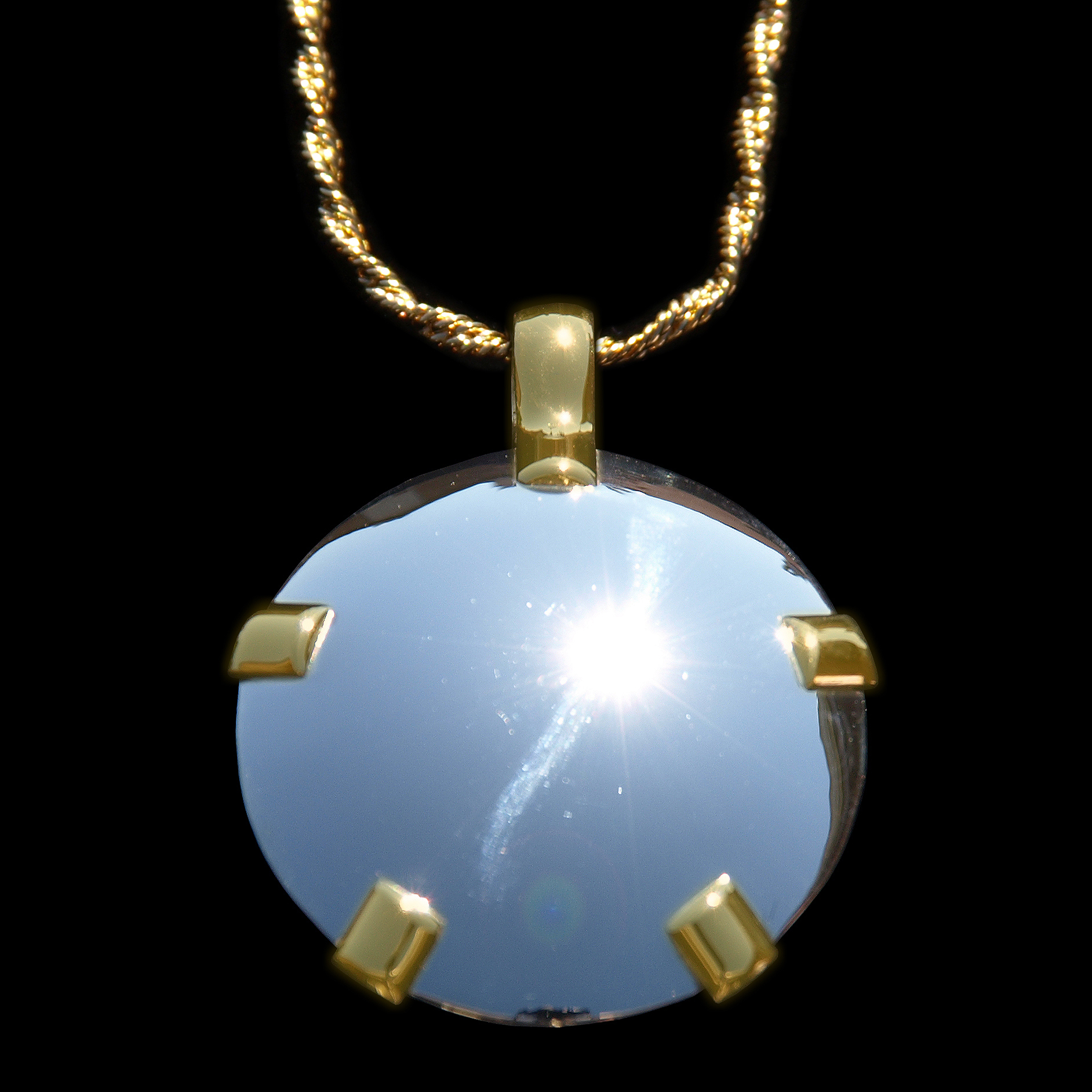 Electromagnetic Radiation Protection Necklace: Bold, Bodacious, Gemstone Jewelry, Not Just Jewelry
