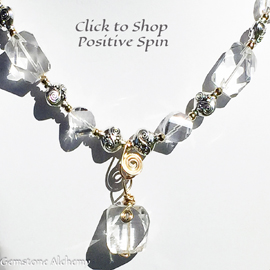Positive Spin quartz Crystal